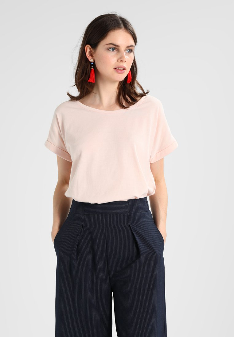 Vila - VIDREAMERS PURE  - Basic T-shirt - peach blush