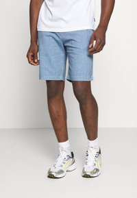 G-Star - VETAR CHINO SHORT - Shorts - dark indigo duos rinsed - 0