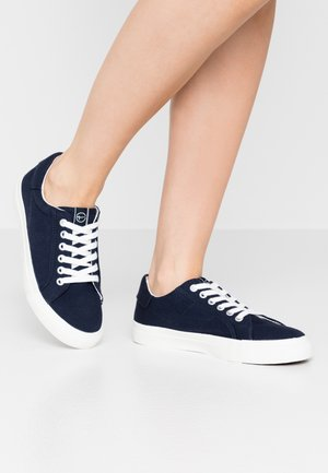 LACE UP - Sneakers laag - navy