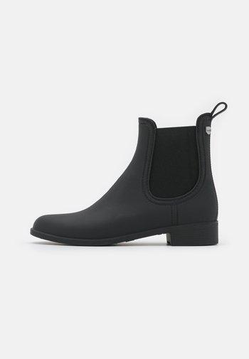 RAIN - Gummistøvler - open black