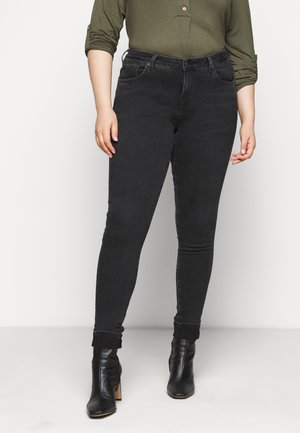 SLFINA WASH - Jeans Skinny Fit - black denim