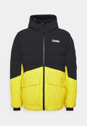 Lyžařská bunda - lime/black