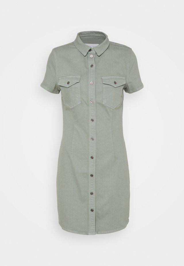 NMJOY DRESS - Blousejurk - slate gray