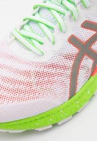 ASICS - GEL-NIMBUS 22 SUMMER LITE SHOW - Neutral running shoes - white/sunrise red - 5