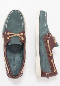 Sebago - DOCKSIDES PORTLAND SPINNAKER  - Boat shoes - blue navy/dark brown - 1