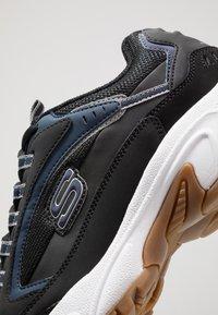 Skechers Sport - STAMINA - Sneaker low - black/navy - 5