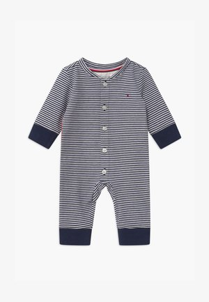 BABY STRIPE FLAG - Overal - blue