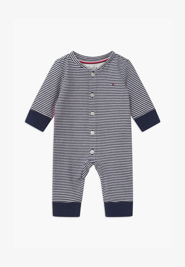 BABY STRIPE FLAG - Jumpsuit - blue