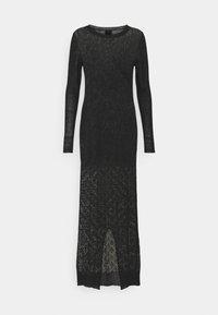 Trussardi - Pletené šaty - black - 6
