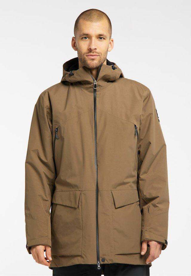 TORSÅNG MEN - Winter jacket - teak brown