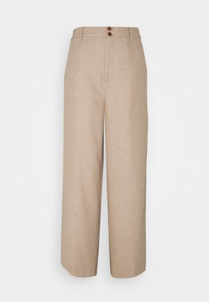 LEANDRA - Bukse - beige melange