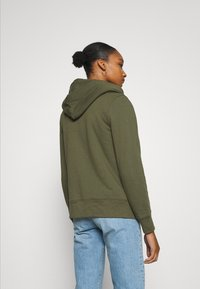 GAP - Zip-up hoodie - army green - 2