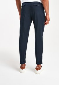 Next - TWIN PLEAT - Pantaloni - blue - 1