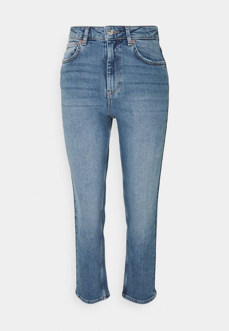 Gina Tricot Petite - NEELA - Straight leg jeans - indigoblue
