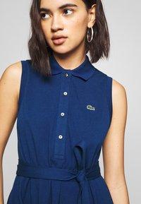 Lacoste - Shirt dress - blue - 4