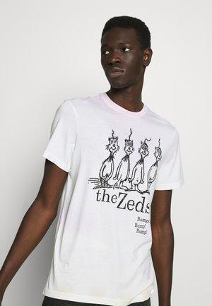 THE ZEDS  - Triko spotiskem - multi