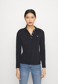 GANT - ORIGINAL - Polo shirt - black - 0