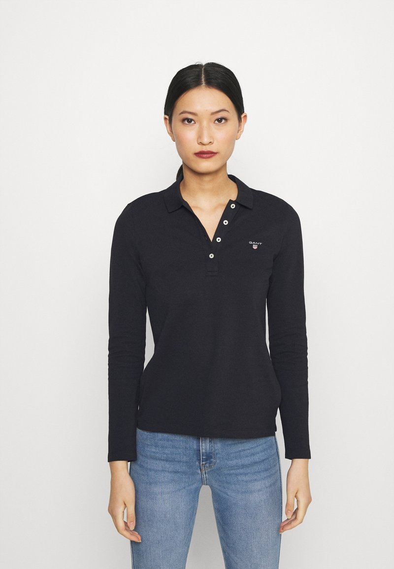 GANT - ORIGINAL - Polo shirt - black