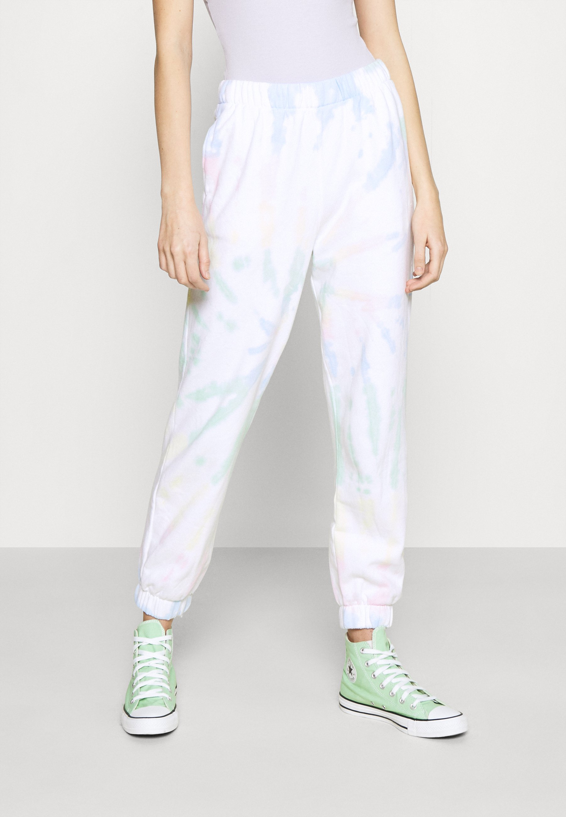 Women CHAIN DAD JOGGER - Tracksuit bottoms
