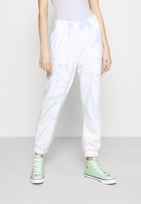 Hollister Co. - CHAIN DAD JOGGER - Tracksuit bottoms - neon tie-dye - 0