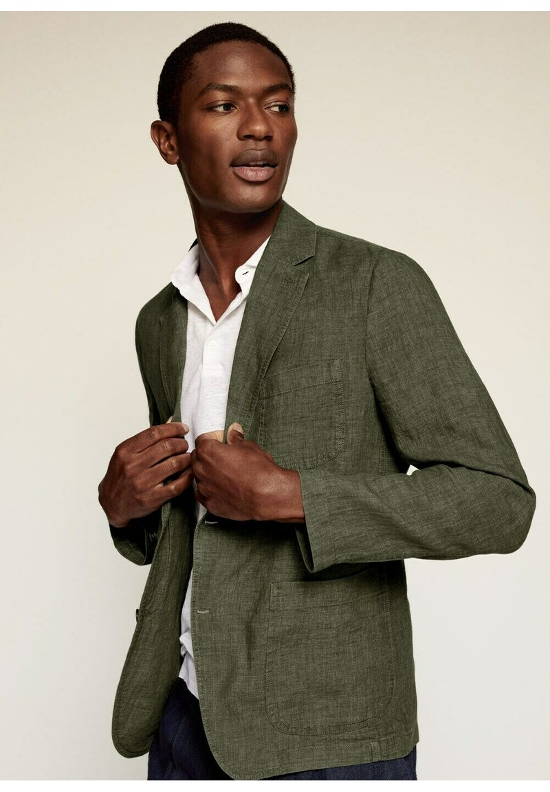 Mango - Blazer jacket - kaki