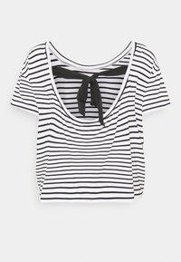 Molly Bracken - LADIES TEE - Print T-shirt - offwhite/black - 1