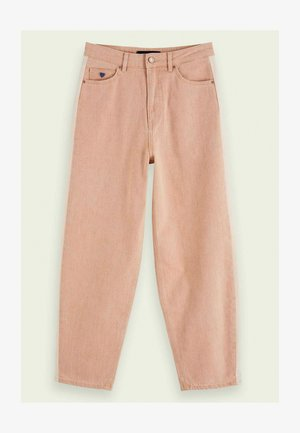 Straight leg jeans - rose smoke