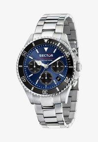Sector - Chronograph watch - blau silber - 1