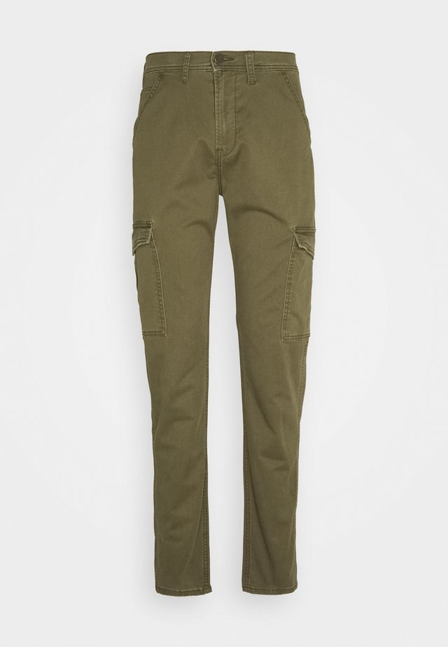 TAPERED PANT - Cargo trousers - olive green