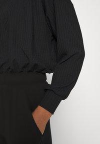 New Look - ELASTIC HEM SET - Sweatshirt - black - 9