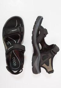 ECCO - OFFROAD - Chodecké sandály - black - 1
