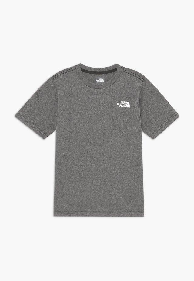 BOY'S REAXION 2.0 TEE - Camiseta estampada - grey