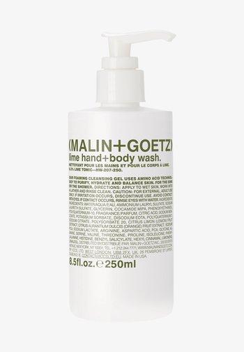 DUSCHGEL & SEIFE LIME HAND + BODY WASH - Shower gel - -