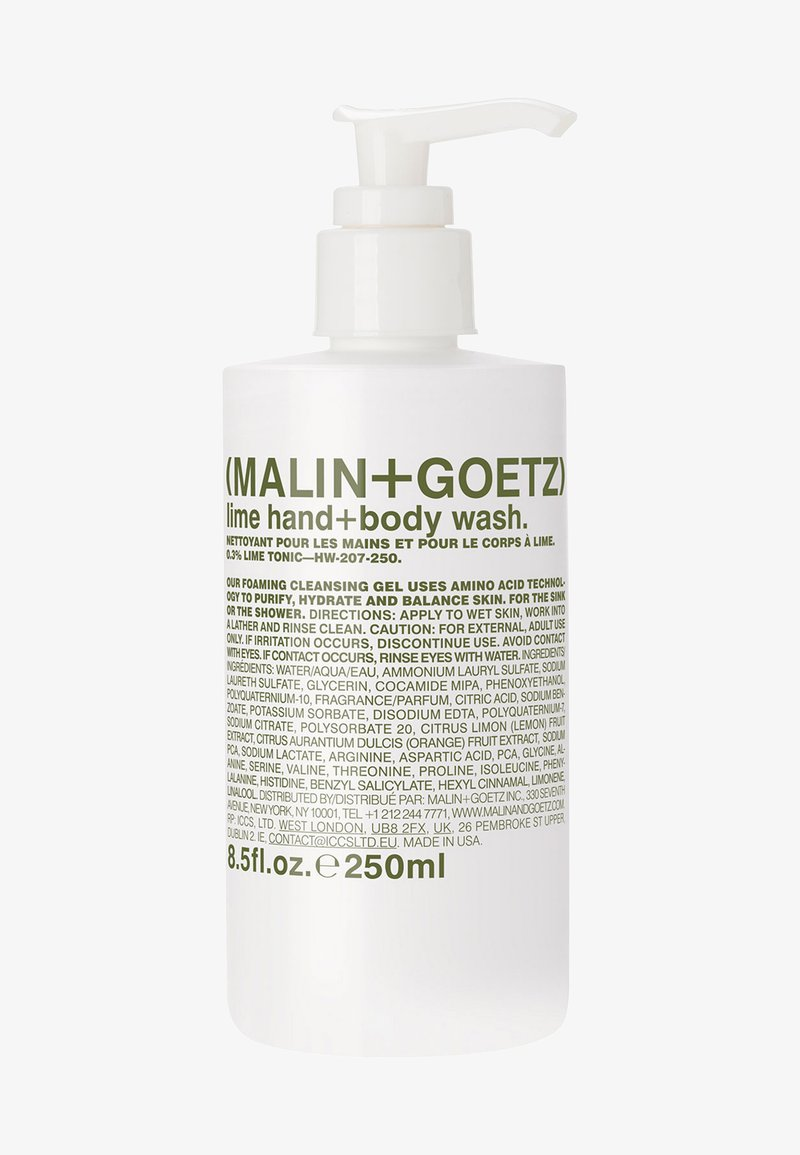 MALIN+GOETZ - DUSCHGEL & SEIFE LIME HAND + BODY WASH - Shower gel - -