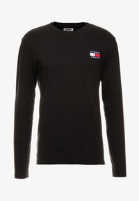 Tommy Jeans - BADGE LONGSLEEVE TEE - T-shirt à manches longues - black - 4