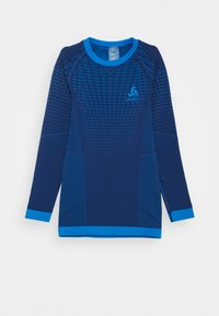 ODLO - CREW NECK PERFORMANCE WARM UNISEX - Undershirt - estate blue/directoire blue - 0