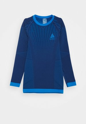 CREW NECK PERFORMANCE WARM UNISEX - Caraco - estate blue/directoire blue
