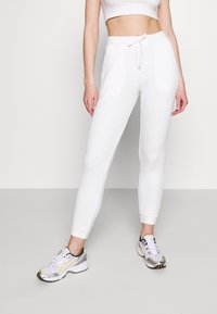 Topshop - COSY BRUSHED SET - Tracksuit bottoms - winter white - 4