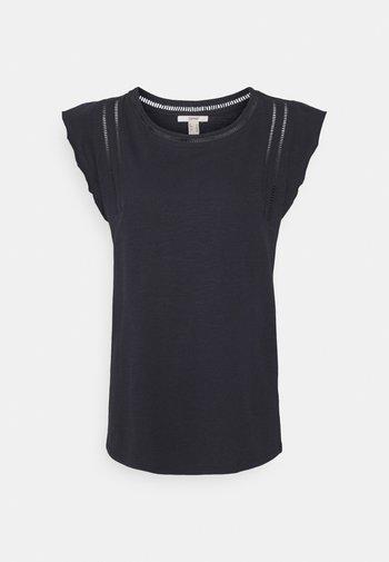 TEE LADDER - Print T-shirt - navy