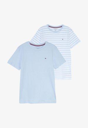 STRIPE 2 PACK - Unterhemd/-shirt - blue