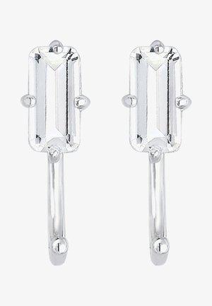 CREOLEN TOPAS - Ohrringe - silver-coloured