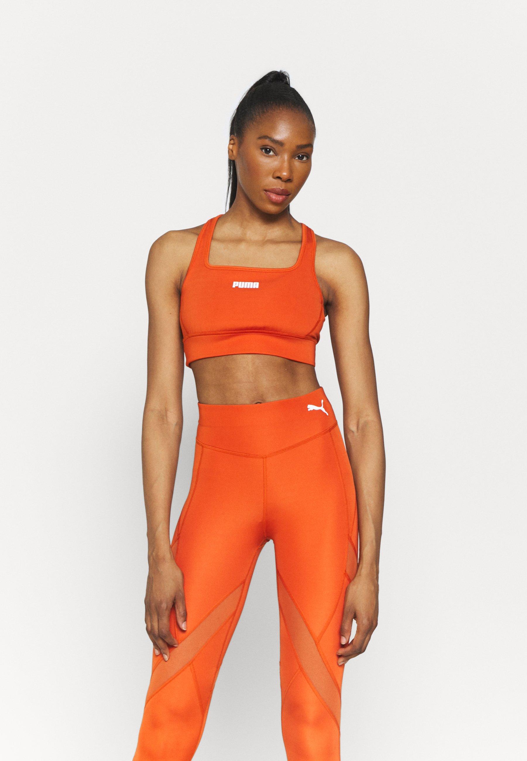 Women PAMELA REIF X PUMA SQUARE NECK BRA - Medium support sports bra