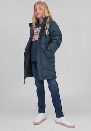 Winter jacket - night ocean