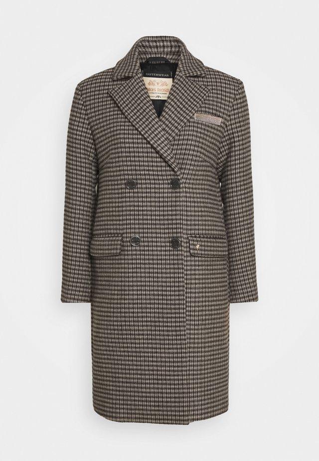 HELLA CHECK COAT - Płaszcz wełniany /Płaszcz klasyczny - wet weather