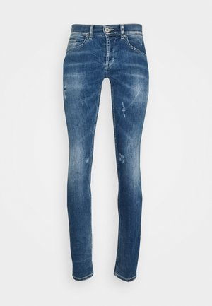 PANTALONE GEORGE - Slim fit jeans - blue denim