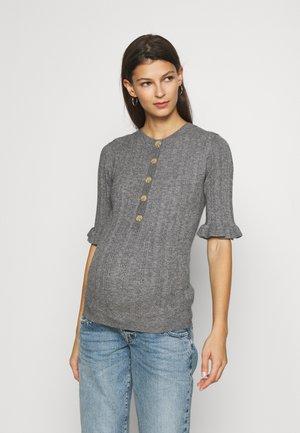 MLHEALY  - T-shirt con stampa - dark grey melange