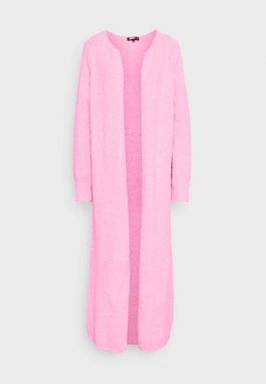 POPCORN MAXI CARDIGAN - Cardigan - pink
