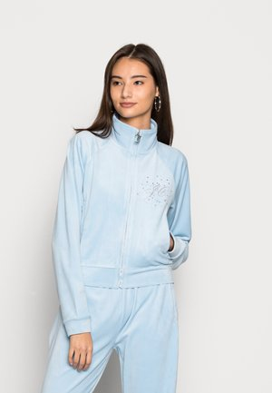 TANYA SCATTER TRACK  - Sweater met rits - cool blue