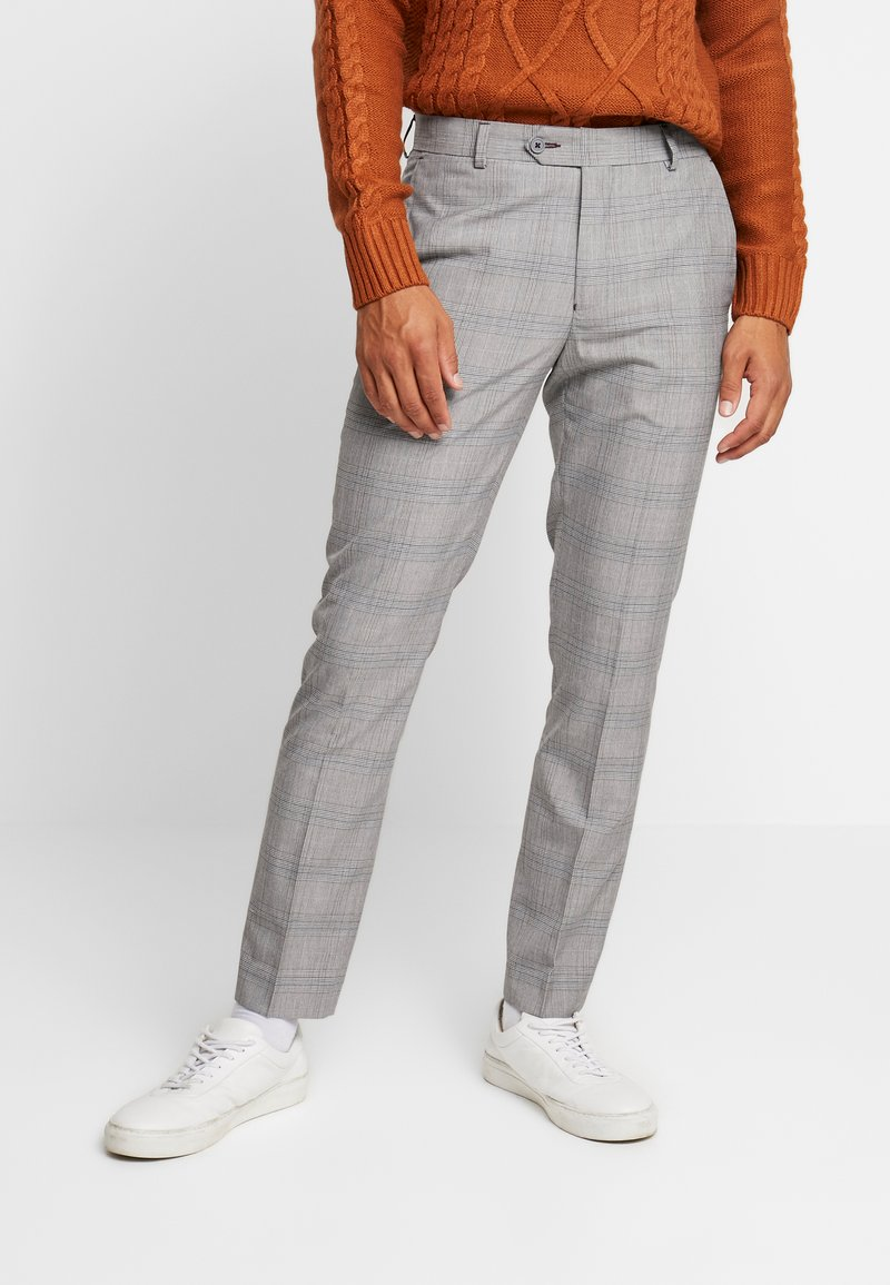1904 - CROPPED TROUSER - Trousers - grey