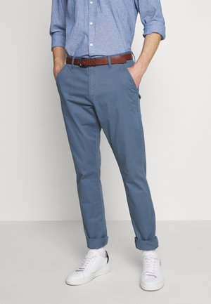 GOVER - Chino kalhoty - china blue